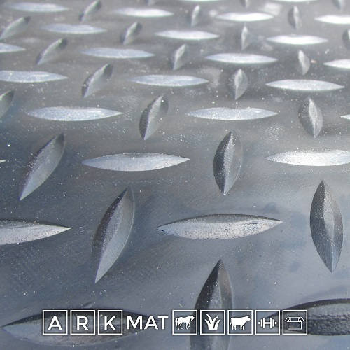 Checker Patterned Rubber Mats