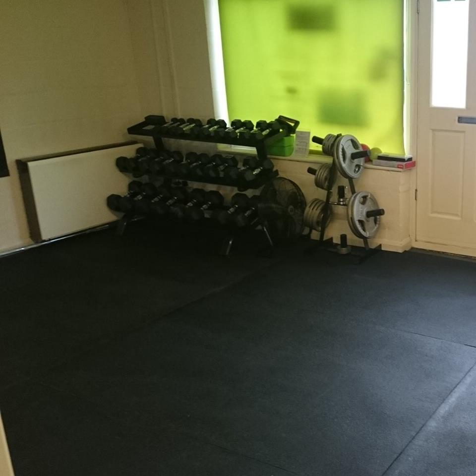 Easy Clean Gym Flooring Mats