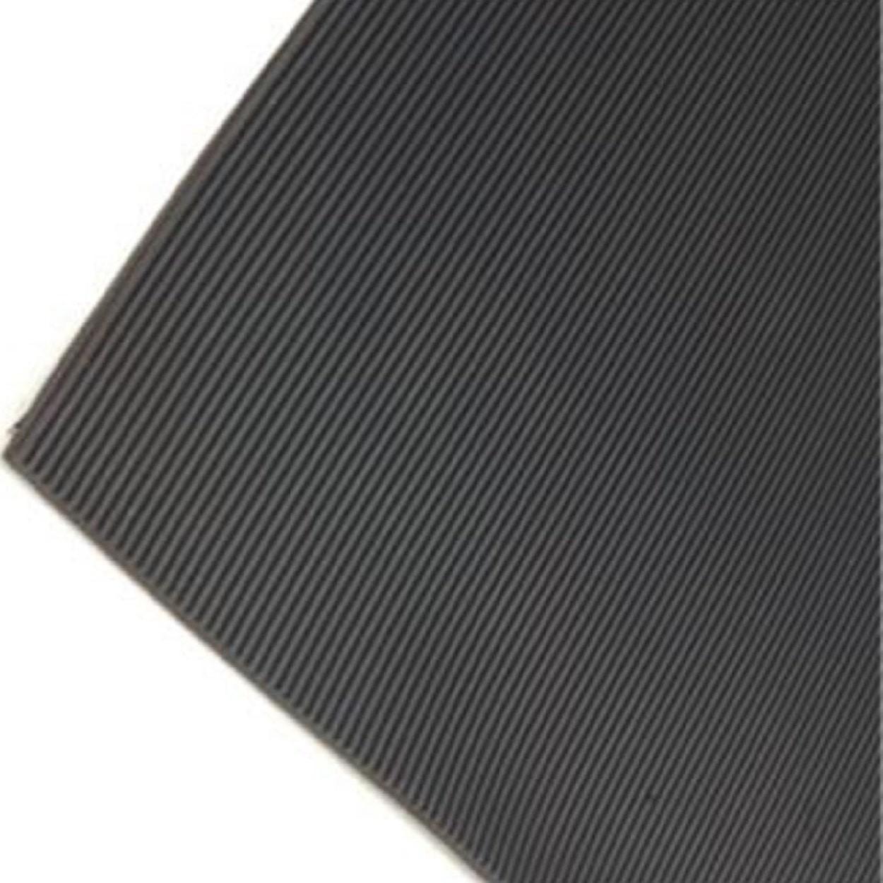 Fine Ribbed Rubber Flooring Rolls Arkmat