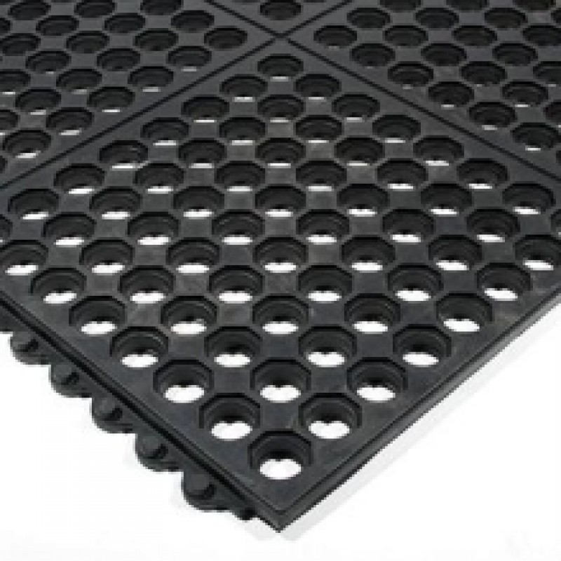 Perforated Milking Parlor Matting Agricultural