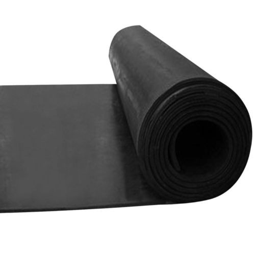 Smooth Black Rubber Rubber Matting Rolls Rubber Mats