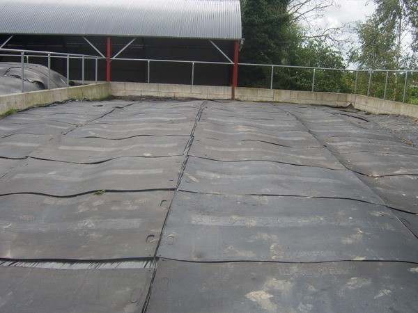 Rubber Silage Pit Mats