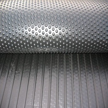12 or 18mm Thick Bubbletop Rubber Mats
