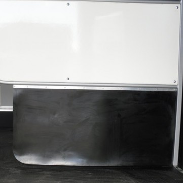 Rubber Horsebox Partition Skirt